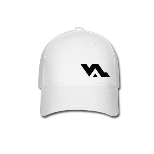 VAL Baseball Cap - W/Blk - Baseball Cap