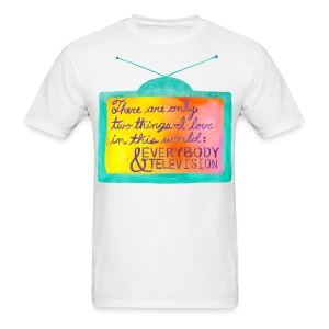 Everybody & Television (turquoise+purple)