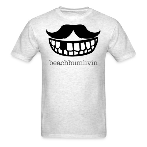 Mustache_smile_2.png - Men's T-Shirt