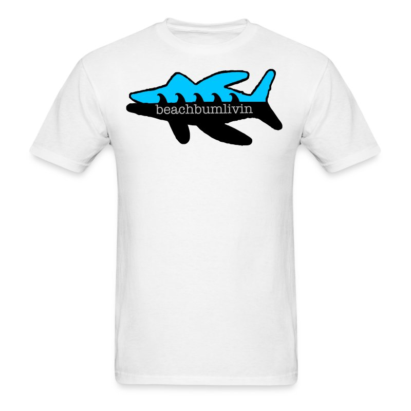 Fish_Logo_tshirt_final_outline.png - Men's T-Shirt
