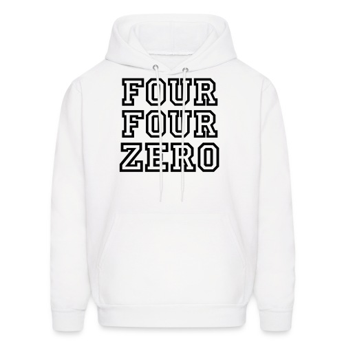 Rep Your Zip Jones (White) - Men's Hoodie