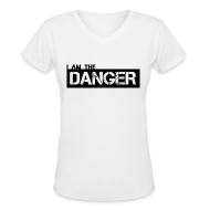 T-Shirts ~ Women's V-Neck T-Shirt ~ Breaking Bad: I am the Danger