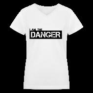 Women's T-Shirts ~ Women's V-Neck T-Shirt ~ Breaking Bad: I am the Danger