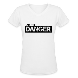 Breaking Bad: I am the Danger - Women's V-Neck T-Shirt