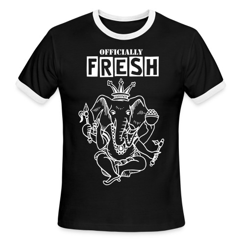 Elephant Fresh - Men's Ringer T-Shirt