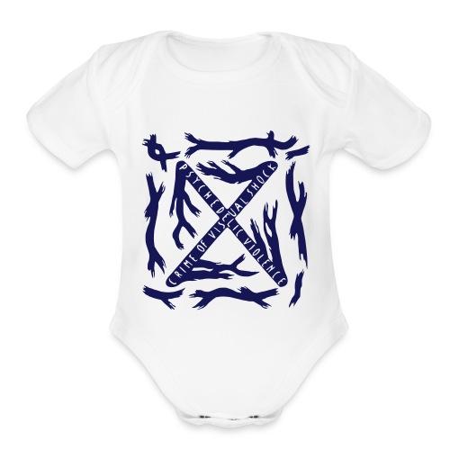 BLUE BLOOD Baby Onesie - Short Sleeve Baby Bodysuit