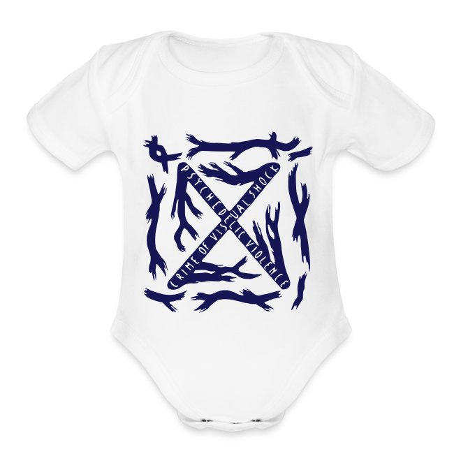 BLUE BLOOD Baby Onesie