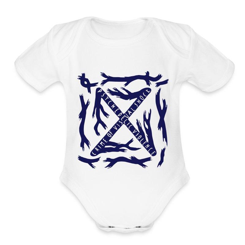 BLUE BLOOD Baby Onesie - Short Sleeve Baby Bodysuit