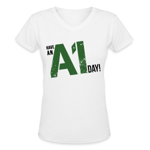 Breaking Bad: Have an A1 Day Carwash T-Shirt - Women's V-Neck T-Shirt