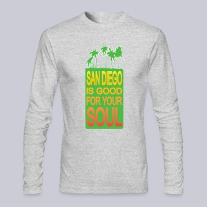 San Diego is Good For Your Soul - Men's Long Sleeve T-Shirt by Next Level