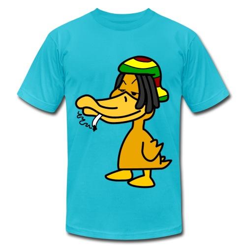 Mens Rasta Duck - Men's  Jersey T-Shirt