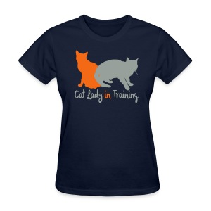 Cat Lady In Training - Women's T-Shirt