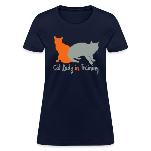 Cat Lady In Training - Women's T-Shirt