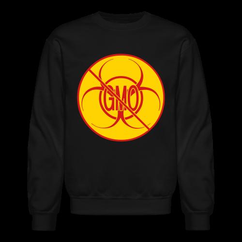 No GMO Sweashirt NO GMO Bio-hazard Mens' Shirts - Crewneck Sweatshirt