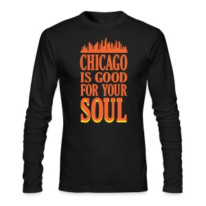Chicago is Good For Your Soul - Men's Long Sleeve T-Shirt by Next Level