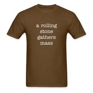 a rolling stone - Men's T-Shirt