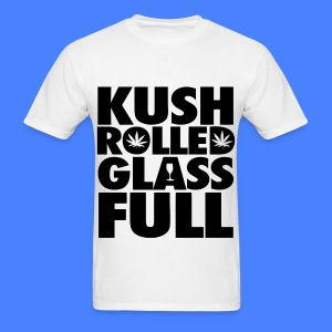 Kush Rolled Glass Full T-Shirts - Men's T-Shirt