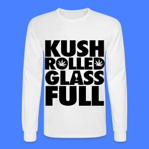 Kush Rolled Glass Full Long Sleeve Shirts - Men's Long Sleeve T-Shirt