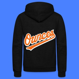 Ounces Zip Hoodies & Jackets - Unisex Fleece Zip Hoodie by American Apparel