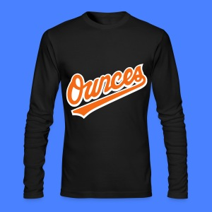 Ounces Long Sleeve Shirts - Men's Long Sleeve T-Shirt by Next Level