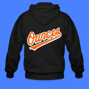 Ounces Zip Hoodies & Jackets - Men's Zip Hoodie