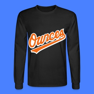 Ounces Long Sleeve Shirts - Men's Long Sleeve T-Shirt