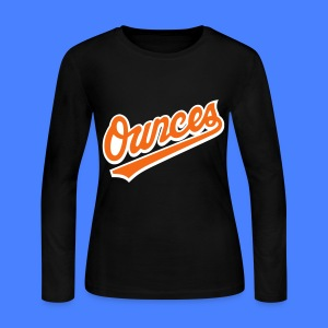 Ounces Long Sleeve Shirts - Women's Long Sleeve Jersey T-Shirt