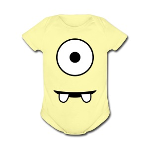 Minion - Short Sleeve Baby Bodysuit