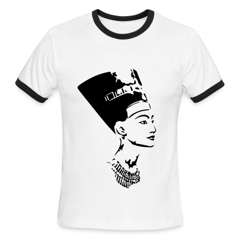 QUEEN NERFERTITI - Men's Ringer T-Shirt