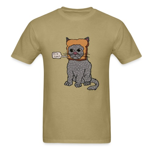 Inbread Cat (Mens)  - Men's T-Shirt