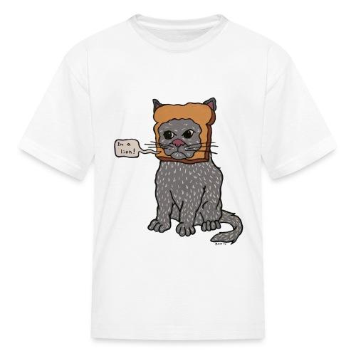 Inbread Cat (Kids) - Kids' T-Shirt