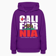 CALIFORNIA REPUBLIC  Bear Hoodies