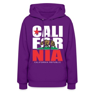 CALIFORNIA REPUBLIC  Bear Hoodies - Women's Hoodie