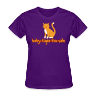 T-Shirts ~ Women's T-Shirt ~ Baby Tiger For Sale
