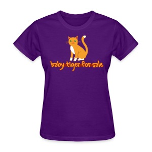 Baby Tiger For Sale - Women's T-Shirt