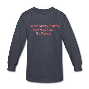 Fenway Faithful - Kids' Long Sleeve T-Shirt