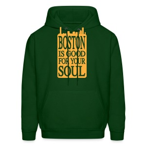 Boston is Good For Your Soul - Men's Hoodie