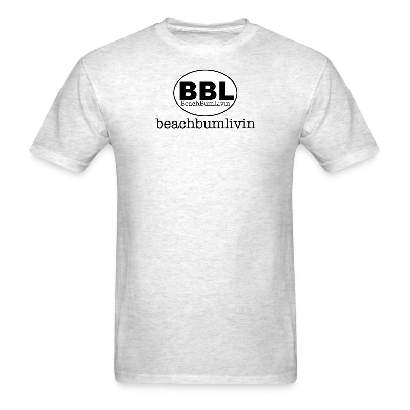 BBL_and_Name-Blackandwhite.png - Men's T-Shirt