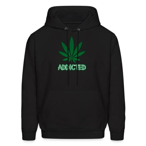 Addicted To Weed Hoodie - Men's Hoodie