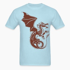 Dragon - Asian - Tattoo - Fantasy T-Shirts