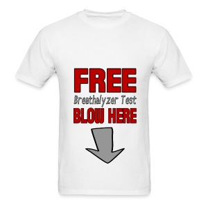 Free Breathalyzer T-Shirt - Men's T-Shirt