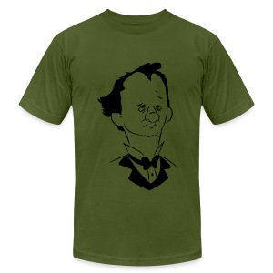 It's Me Barnum! (Pfertner Exclusive Flock Print) - Men's T-Shirt by American Apparel