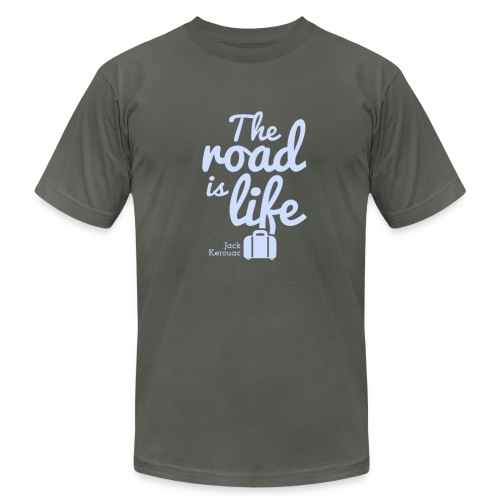 The Road is Life - Men's Fine Jersey T-Shirt