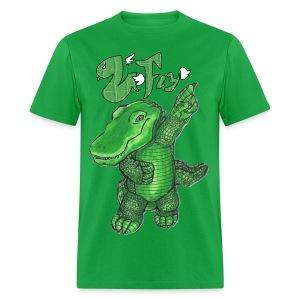 Venom Fly Gator Green Logo Tee - Men's T-Shirt