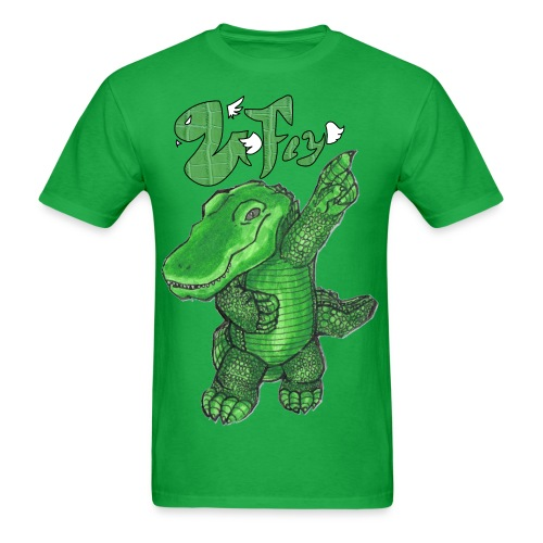 Venom Fly Gator Green Logo Tee - Men's T-Shirt