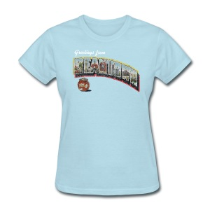 Vintage Greetings Boston - Women's T-Shirt