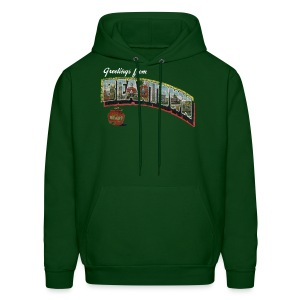Vintage Greetings Boston - Men's Hoodie