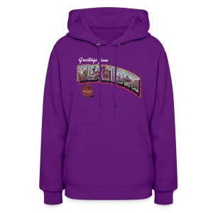 Vintage Greetings Boston - Women's Hoodie