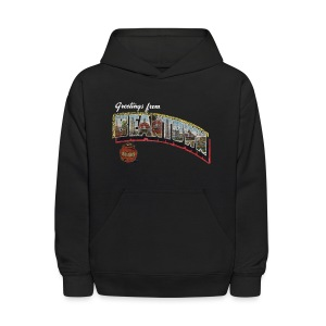 Vintage Greetings Boston - Kids' Hoodie