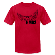 T-Shirts ~ Men's T-Shirt by American Apparel ~ Spread your wings and HM02